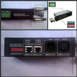 High Power LED DMX-512 controller for RGB LED strip light